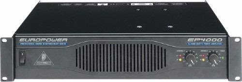 behringer ep4000 amplificador power 4000 watts nuevos