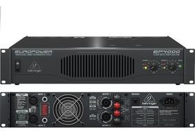 Behringer Ep4000 Potencia 4000 Watts 950 Watts Por Lado En 4 on behringer power amps, behringer ep1500, behringer amplifiers product, behringer 4000 amp,