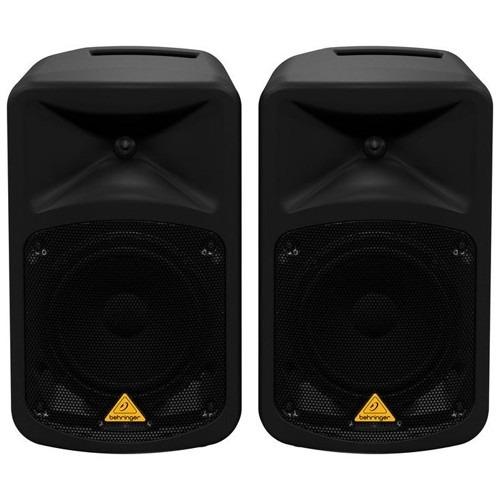 behringer eps500mp3 sistema de audio portatil mp3. 500 watts