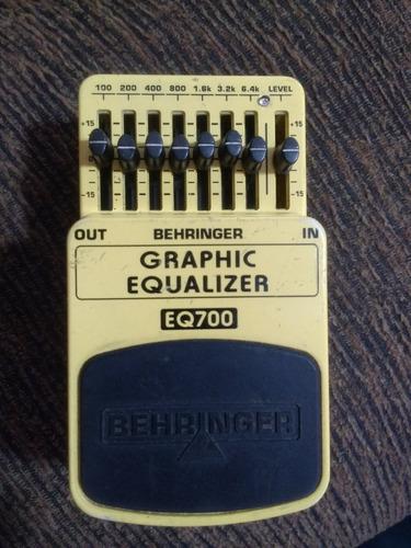 behringer eq700 equalizer equalizador booster