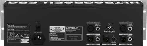behringer fbq6200 ultragraph pro equalizador grafico