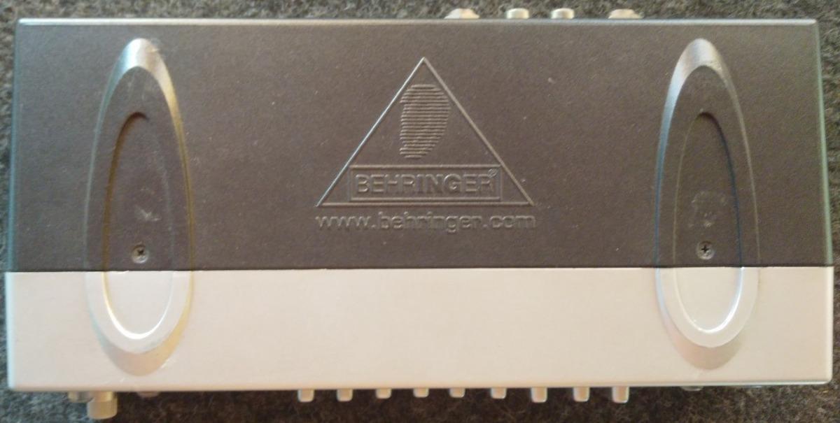 Behringer Fbq800 Ecualizador Grafico 9 Bandas