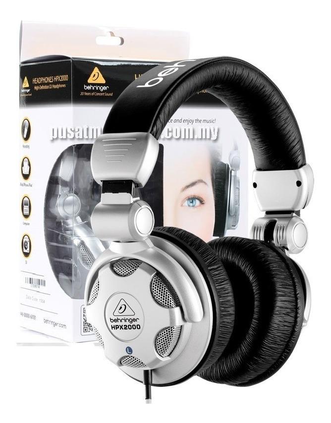 33309bafd07 behringer hpx2000 audifonos headphones profesionales djs. Cargando zoom.