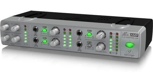 behringer mixer de auriculares - 4 auri - 2 entradas estereo