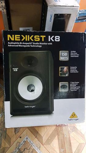 behringer nekkst k8 monitor potenciado de estudio 150w elpar