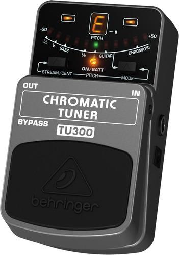 behringer tu300 pedal afinador cromatico guitarra y bajo