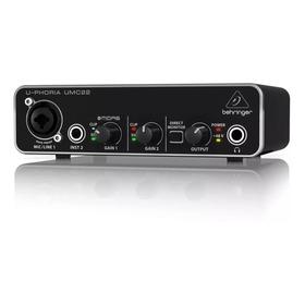 Behringer U-phoria Umc 22 Interfaz De Audio Usb