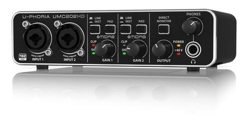 behringer umc202 hd - interfaces usb