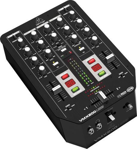 behringer vmx200 usb mixer pro consola audio 2 canales dj