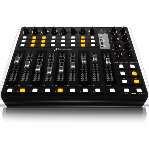 behringer x-touch compact controlador midi/usb universal