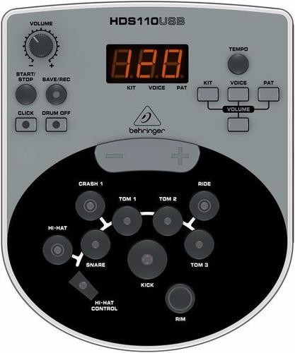behringer xd8 usb - batería electrónica usb