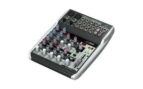 behringer xenyx q1002 usb mixer consola  audiomasmusica