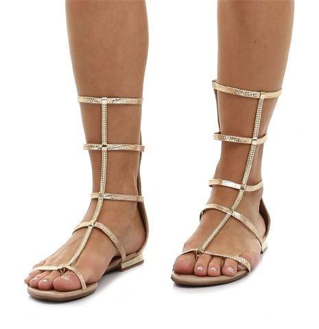 2125147e52 sandália rasteira gladiadora beira rio 8263421 metal ouro · sandália beira  rio · beira rio sandália