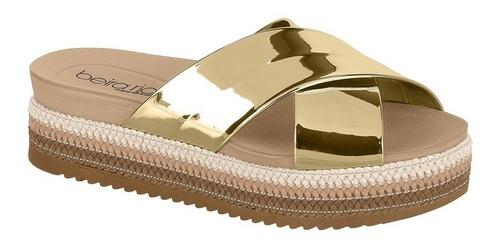 beirario sandalia verano summer top oro rose