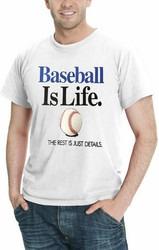béisbol es vida el rest son detalles hombres 's deporte t -