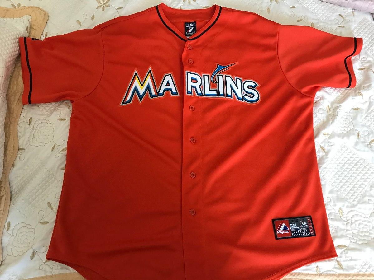 designer fashion 22076 6ac25 Beisbol Giancarlo Stanton Miami Marlins Jersey