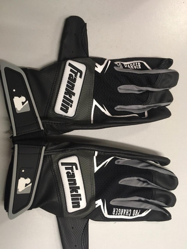 beisbol guantes negros pro charger oficiales