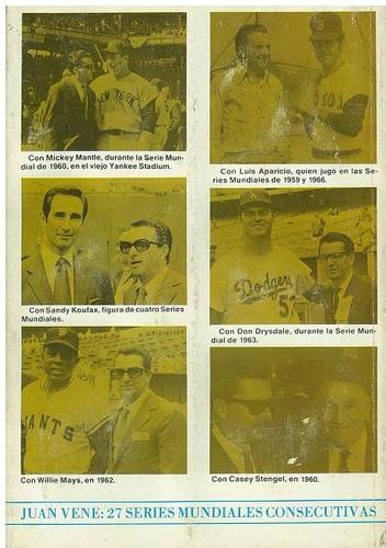beisbol, la historia de las series mundiales 1903-1986 vené