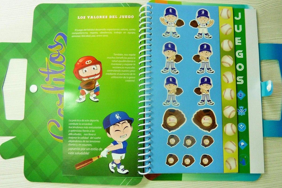 Beisbol Libreta Interactiva Karoling Ideal Para Niños - Bs. 3,00 en ...