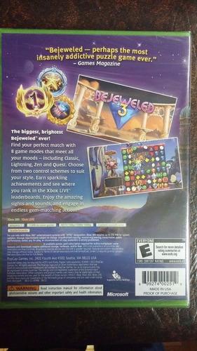 bejeweled 3 xbox 360 envio gratis
