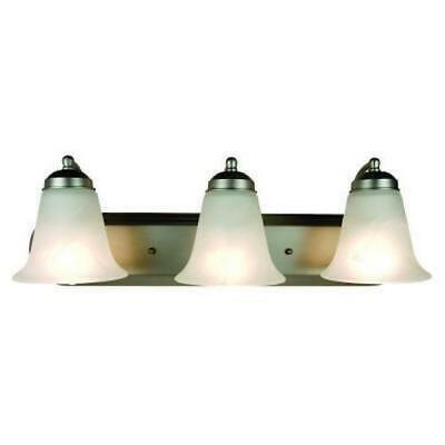 bel air lighting - luz para tocador fluorescente, níquel ce