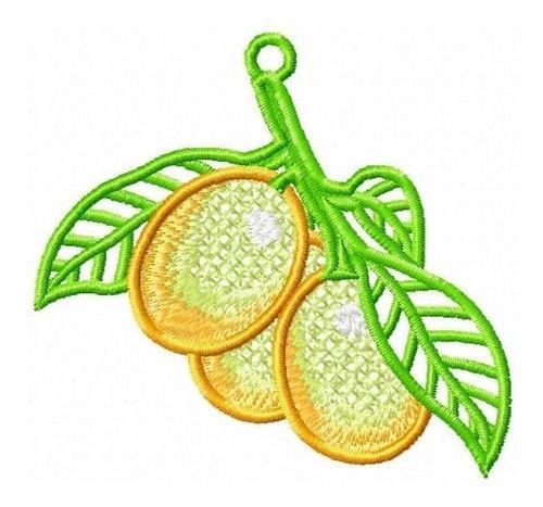 bel frutas rechilieu - coleção de matriz de bordado
