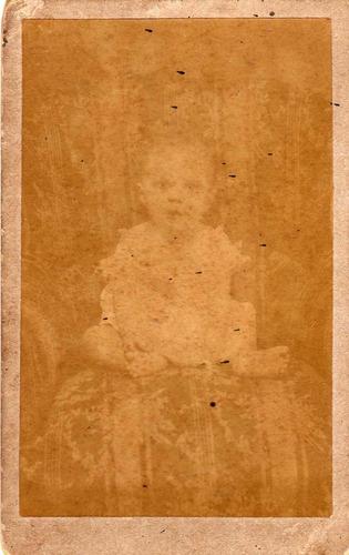 bela carte visite fotografia antiga (p435)