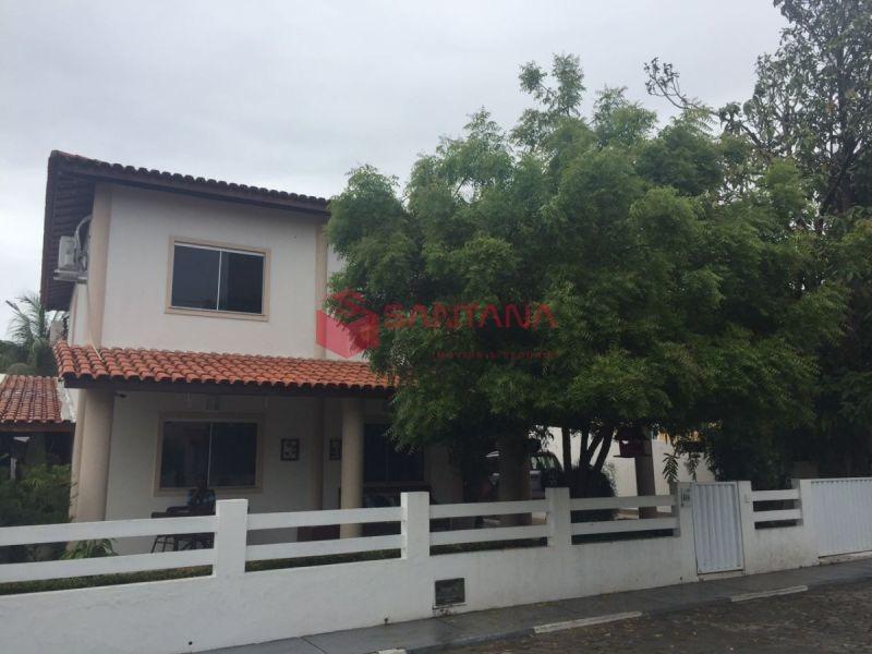 bela casa com 4/4 em condomínio fechado  - 93150797