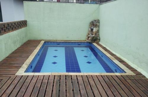 bela casa com piscina, c/3 dorms - jd maria luiza - ref61234