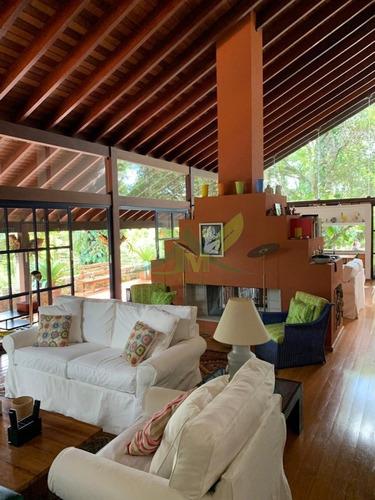 bela casa em atibaia no club da montanha cond. alto padrão - 1045