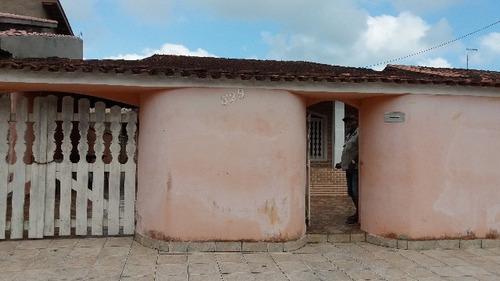 bela casa no balneário gaivota, em itanhaém - ref 3243