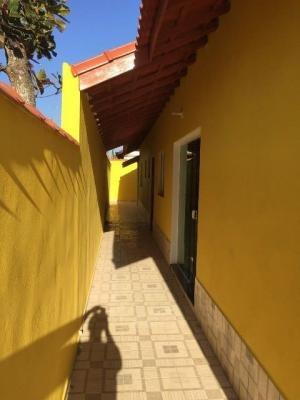 bela casa no litoral, em itanhaém, 2 dormitórios! ref 2843-p