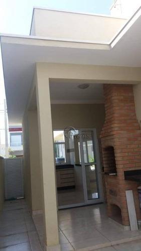 bela casa para alugar no jd.park real, com 3 quartos (1 suíte), 120 m - ca1724
