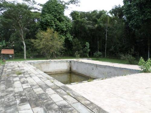 bela chácara com piscina e 3 quartos, itanhaém - ref 4208-p