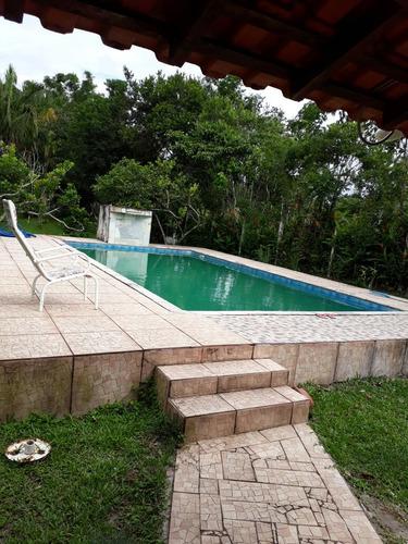 bela chácara com piscina, entrada + parcelas, confira!!!