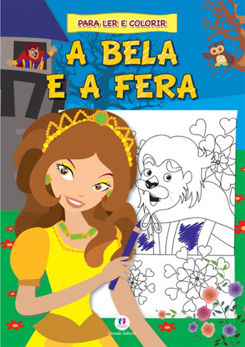 bela e a fera, a - coleção contos clássicos para ler e co