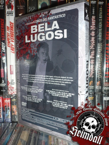 bela lugosi collection pack 4 films esp terror imp europa