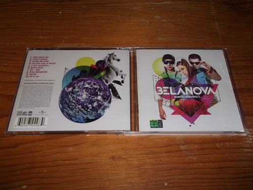 belanova sueño electro cd nac ed 2010 mdisk