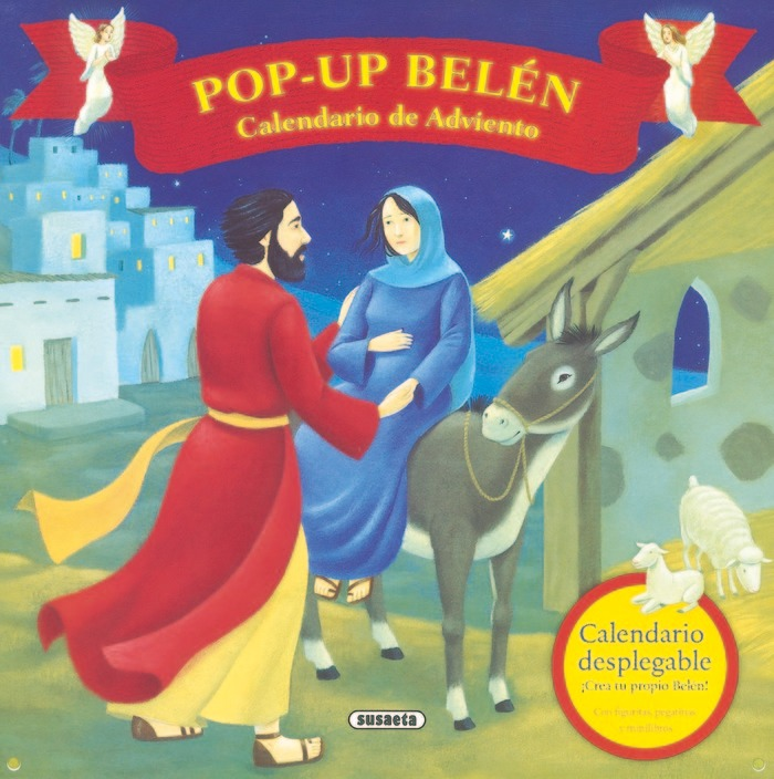 Belen Calendario.Belen Calendario De Adviento Pop Up Aa Vv Book