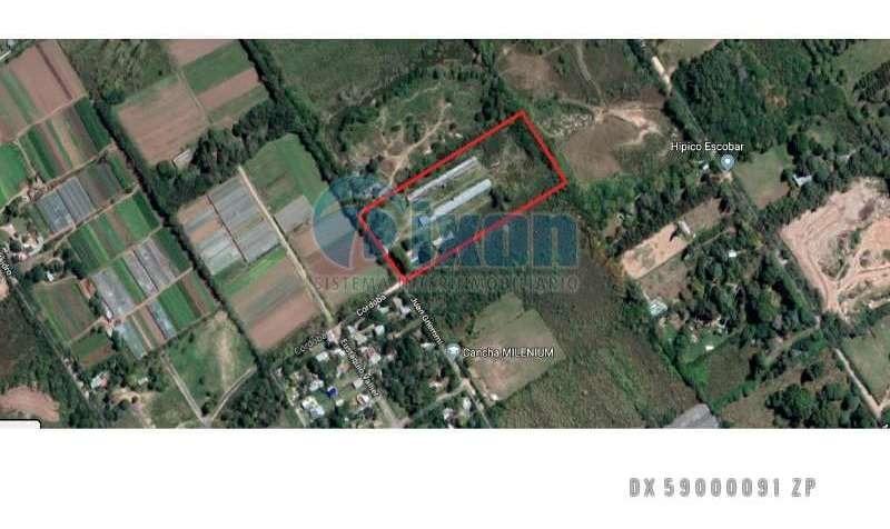 belén de escobar - hectareas venta usd 360.000