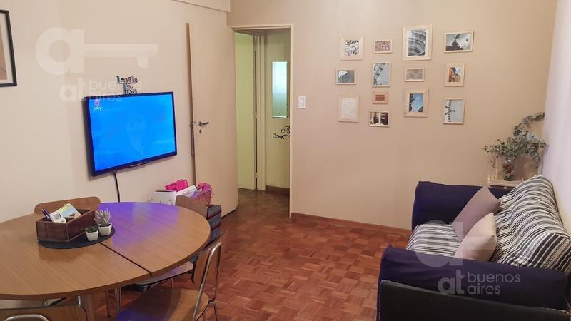 belgrano. departamento 2 ambientes con patio