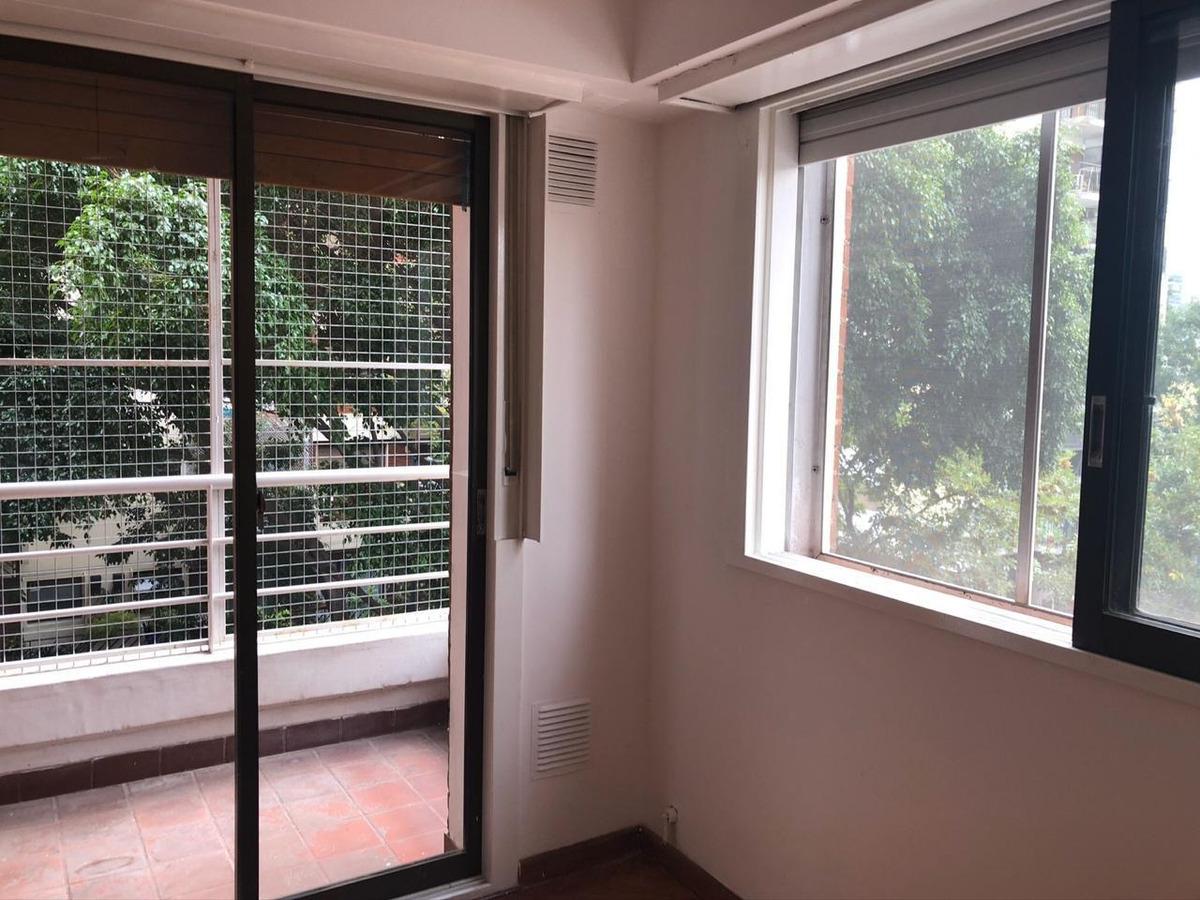 belgrano. departamento 2 ambientes. frente. balcón. lavadero