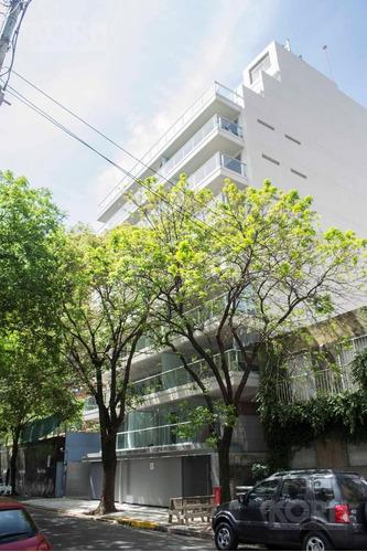 belgrano - departamento en venta de ambiente y medio c/balcon aterrazado y cochera a estrenar