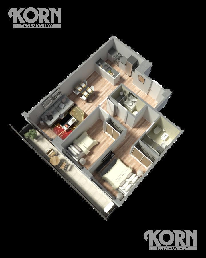 belgrano - venta oficina planta libre con patio - pozo