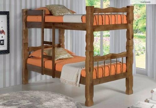 beliche rústica 100% madeira maciça/montagem gratuita sp cap