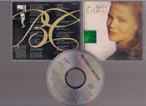 belinda carlisle - the best of - cd - by maceo