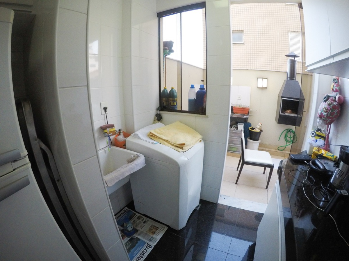 belíssima área privativa de 02 quartos suite - 1419