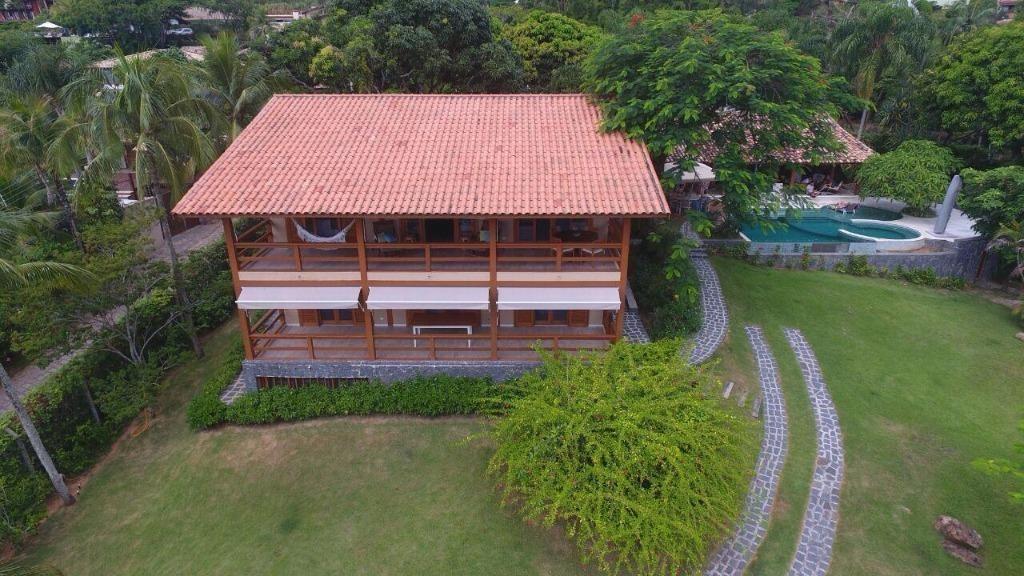 belíssima casa altíssimo padrão em ilhabela - para montar pousada - ca2160