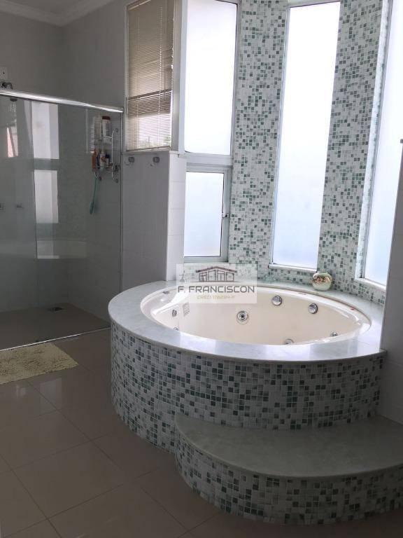 belíssima casa  alto padrão à venda, jardim santa rosa, itatiba. - ca0034