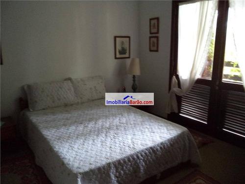 belíssima casa com 4 dormitórios, cidade universitária, campinas. - ca0787